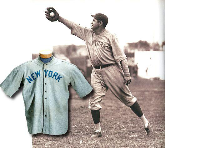 best website a0b64 6212b Babe Ruth jersey auctioned for $4.4 million, becomes most ...