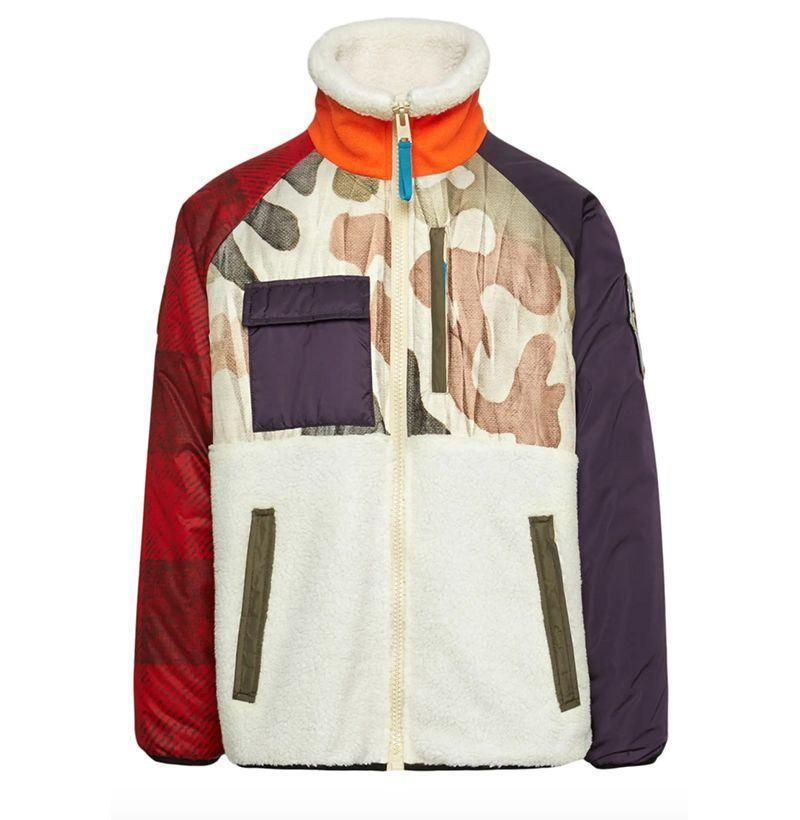 """<p><strong>WOOLRICH x Griffin Second Life</strong></p><p>nordstrom.com</p><p><strong>$355.00</strong></p><p><a href=""""https://go.redirectingat.com?id=74968X1596630&url=https%3A%2F%2Fshop.nordstrom.com%2Fs%2Fwoolrich-x-griffin-second-life-genuine-shearling-down-jacket%2F5453310&sref=https%3A%2F%2Fwww.esquire.com%2Fstyle%2Fmens-fashion%2Fg22107232%2Fcool-jackets-for-men%2F"""" rel=""""nofollow noopener"""" target=""""_blank"""" data-ylk=""""slk:Buy"""" class=""""link rapid-noclick-resp"""">Buy</a></p><p>Hail, hail the gang's all here. (""""The gang""""=all the things you should be wearing this fall.) </p>"""