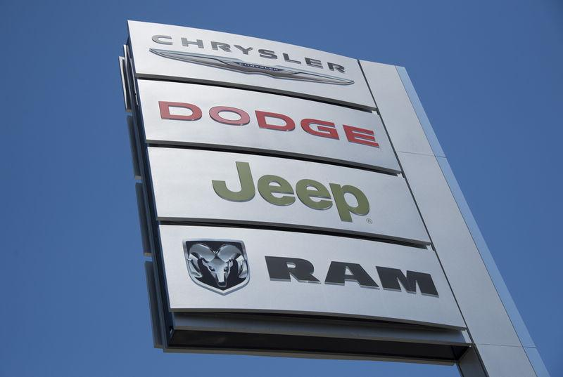 FILE PHOTO - Auto dealership selling the Jeep Grand Cherokee in Los Angeles