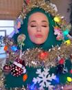 "<p>The new mum dressed up as a Christmas tree - naturally - for an appearance on ABC way back in November! </p><p><a href=""https://www.instagram.com/p/CIOjtZfnFvK/?utm_source=ig_web_copy_link"" rel=""nofollow noopener"" target=""_blank"" data-ylk=""slk:See the original post on Instagram"" class=""link rapid-noclick-resp"">See the original post on Instagram</a></p>"