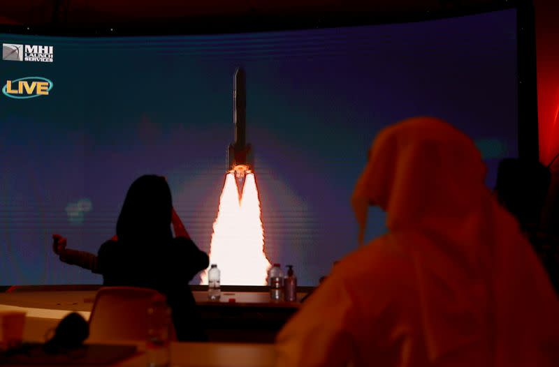 FILE PHOTO: Launch of the United Arab Emirates Mars mission, in Dubai