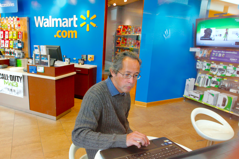 Walmart's got a big opportunity in ecommerce. (Reuters)