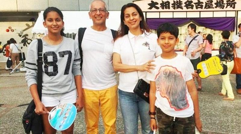Juhi Chawla Says Her Kids Won't Watch Her Romantic Films as They Get Very Strange