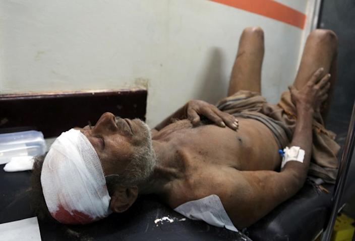 The Saudi-led coalition has been repeatedly criticised for the high civilian death toll from its 18-month-old bombing campaign in Yemen (AFP Photo/STRINGER)