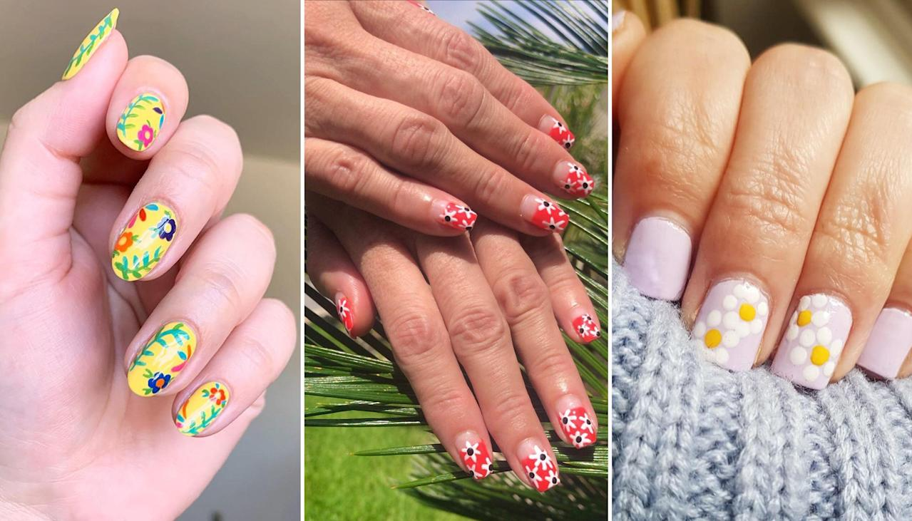 Daisy Nail Art Is Trending, and It's So Easy to Do at Home