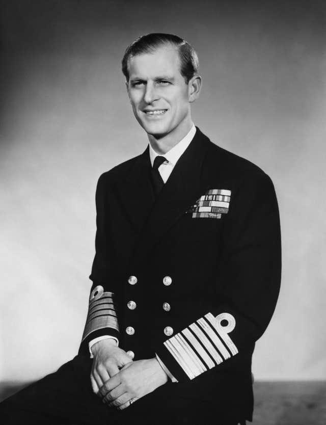 Philip became an Admiral of the Fleet
