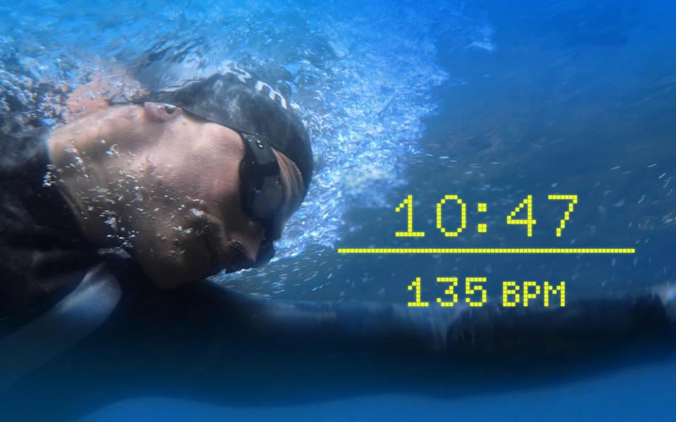 Form goggles give you live speed and heart rate metrics