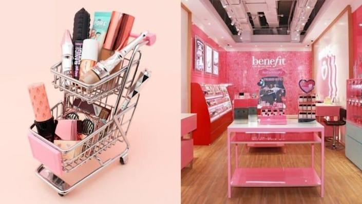 With Benefit Cosmetics, you get the benefit of a massive selection of funky brow products and game-changing lip and cheek stains.