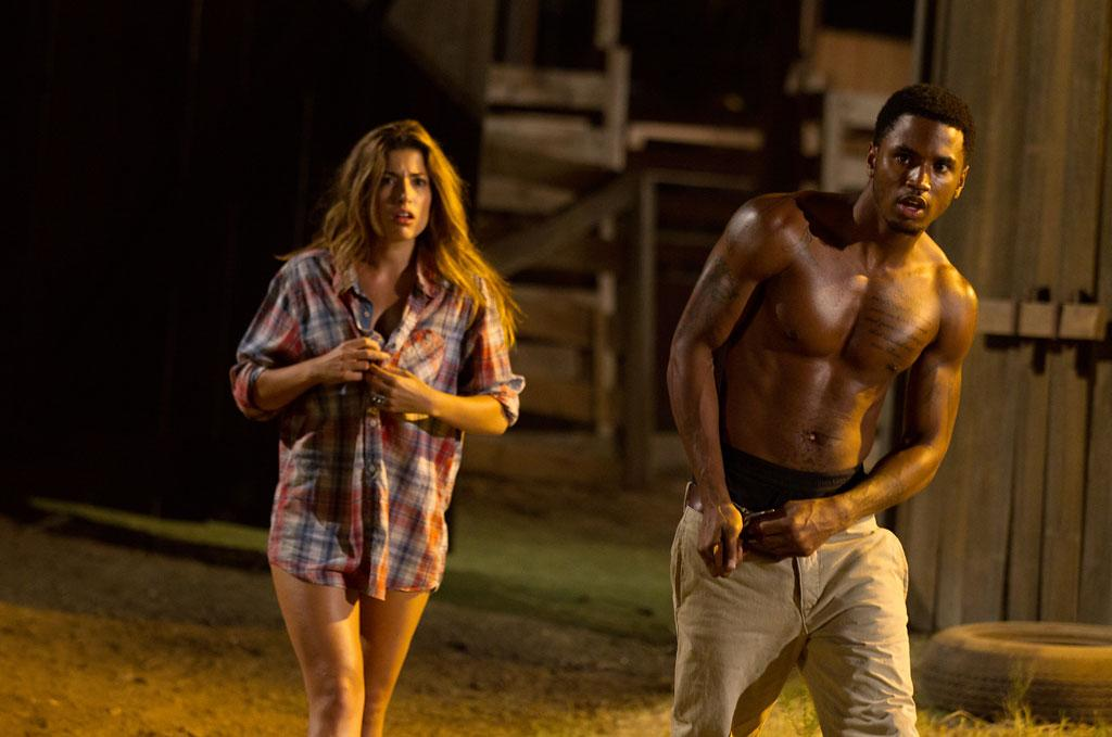 "Tania Raymonde and Trey Songz in Lionsgate ""Texas Chainsaw 3D"" - 2013"