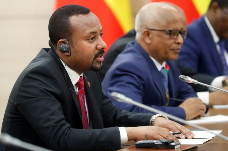 Ethiopia's Prime Minister Abiy Ahmed, pictured  October 23, 2019, has raised the prospect of more ethnic violence