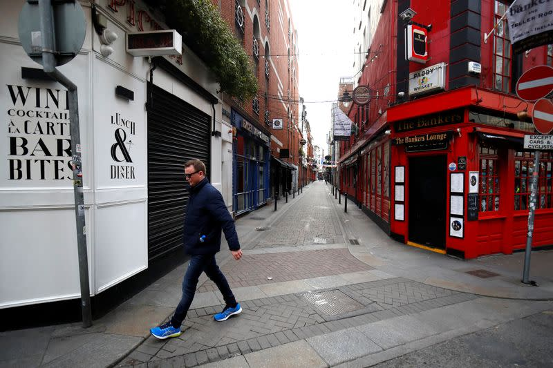 Ireland may ease coronavirus restrictions on April 12 - health minister