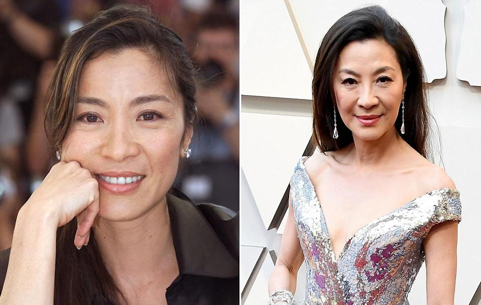 <p>The <em>Star Trek Discovery</em> star is looking as fresh as she did when she was teaming up with Pierce Brosnan in<em> Tomorrow Never Dies.</em> (JACK GUEZ/AFP/Getty Images) </p>