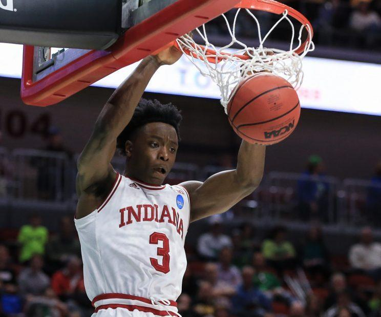 OG Anunoby has averaged 11.1 points and 5.4 rebounds per game this season. (AP)