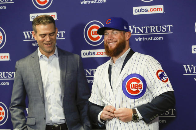 After signing with the Chicago Cubs earlier this month, pitcher Craig Kimbrel has been called up. (Jose M. Osorio/Chicago Tribune/TNS via Getty Images)