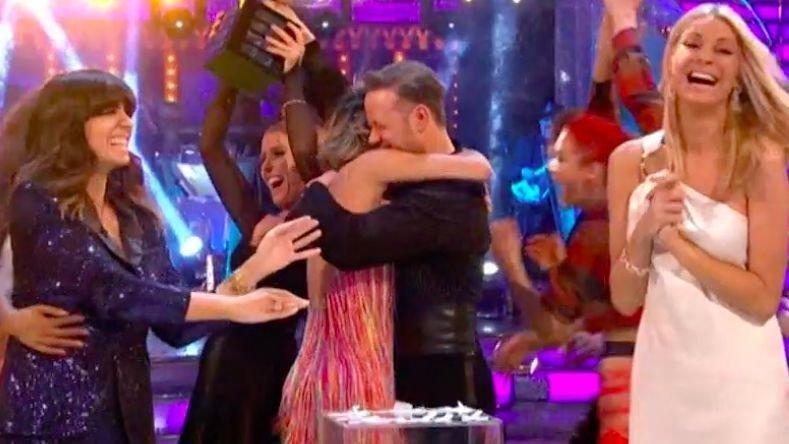 There wasn't a dry eye in the 'Strictly Come Dancing' studio following last