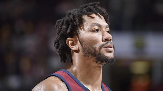 """<p>Derrick Rose is looking to make his return Thursday against the Magic, he told media following practice Wednesday. </p><p>On Oct. 20 Rose went down with an <a href=""""https://www.si.com/nba/2017/10/20/derrick-rose-injury-news-update-cavaliers"""" rel=""""nofollow noopener"""" target=""""_blank"""" data-ylk=""""slk:ankle injury"""" class=""""link rapid-noclick-resp"""">ankle injury</a> in a Cavaliers win over the Bucks. He missed Cleveland's next four games, but returned Oct. 29 for a loss to the Knicks. Rose played four games after that, but has not been on the court since a Nov. 7 win over Milwaukee.</p><p>""""I feel good, I haven't had any setback,"""" he said. </p><p>At one point, Rose was <a href=""""https://www.si.com/nba/2017/11/24/derrick-rose-evaluating-future-basketball-away-cavaliers"""" rel=""""nofollow noopener"""" target=""""_blank"""" data-ylk=""""slk:reportedly evaluating"""" class=""""link rapid-noclick-resp"""">reportedly evaluating</a> retirement since he was sick of being injured. But he <a href=""""https://www.si.com/nba/2017/12/04/cleveland-cavaliers-derrick-rose-return"""" rel=""""nofollow noopener"""" target=""""_blank"""" data-ylk=""""slk:returned"""" class=""""link rapid-noclick-resp"""">returned</a> to Cleveland at the beginning of December after being away from the team for a while. </p><p>Rose has had to deal with injuries his entire career, missing 27 games the 2011-2012 season and then tearing his ACL in the first game of the playoffs.</p><p>He missed the following season and then played only 10 games during the 2013-2014 season. He </p><p> In seven games this season he is averaging 14.3 points, 2.6 rebounds and 1.7 assists.</p>"""