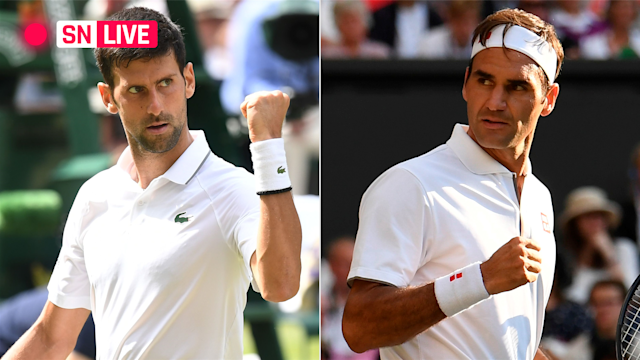 Sporting News tracked live scoring updates and highlights from the record-setting 2019 Wimbledon men's singles final between Novak Djokovic and Roger Federer.