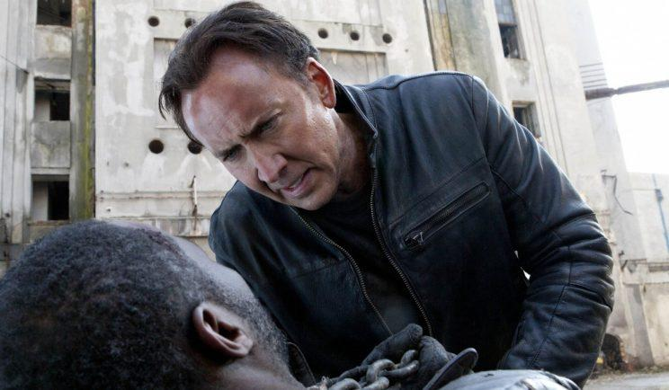 Nicolas Cage has been injured on the set of his latest film - Credit: Warner Bros.