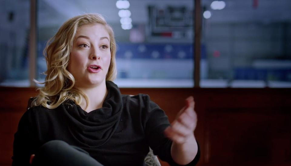 "Gracie Gold Olympic skater ""The Weight of Gold"""