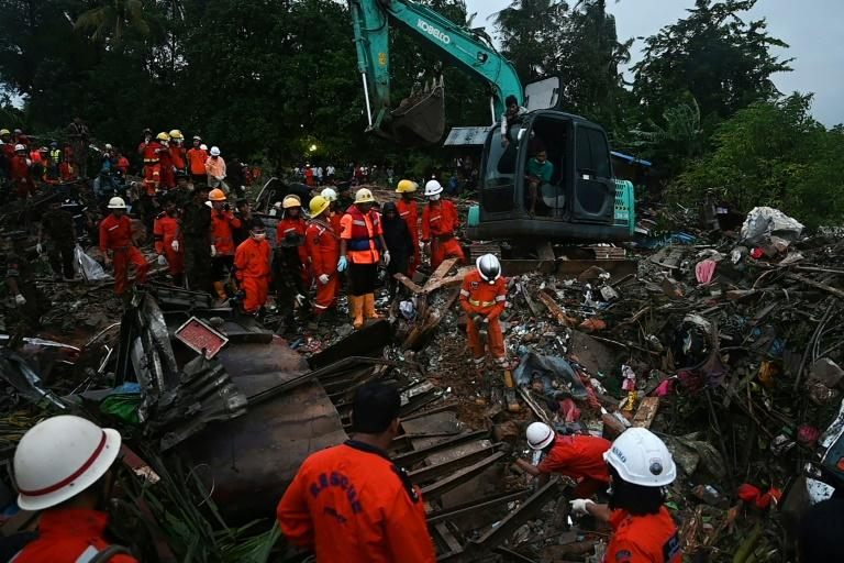 The death toll from a landslide in Mon state, Myanmar, has reached 52