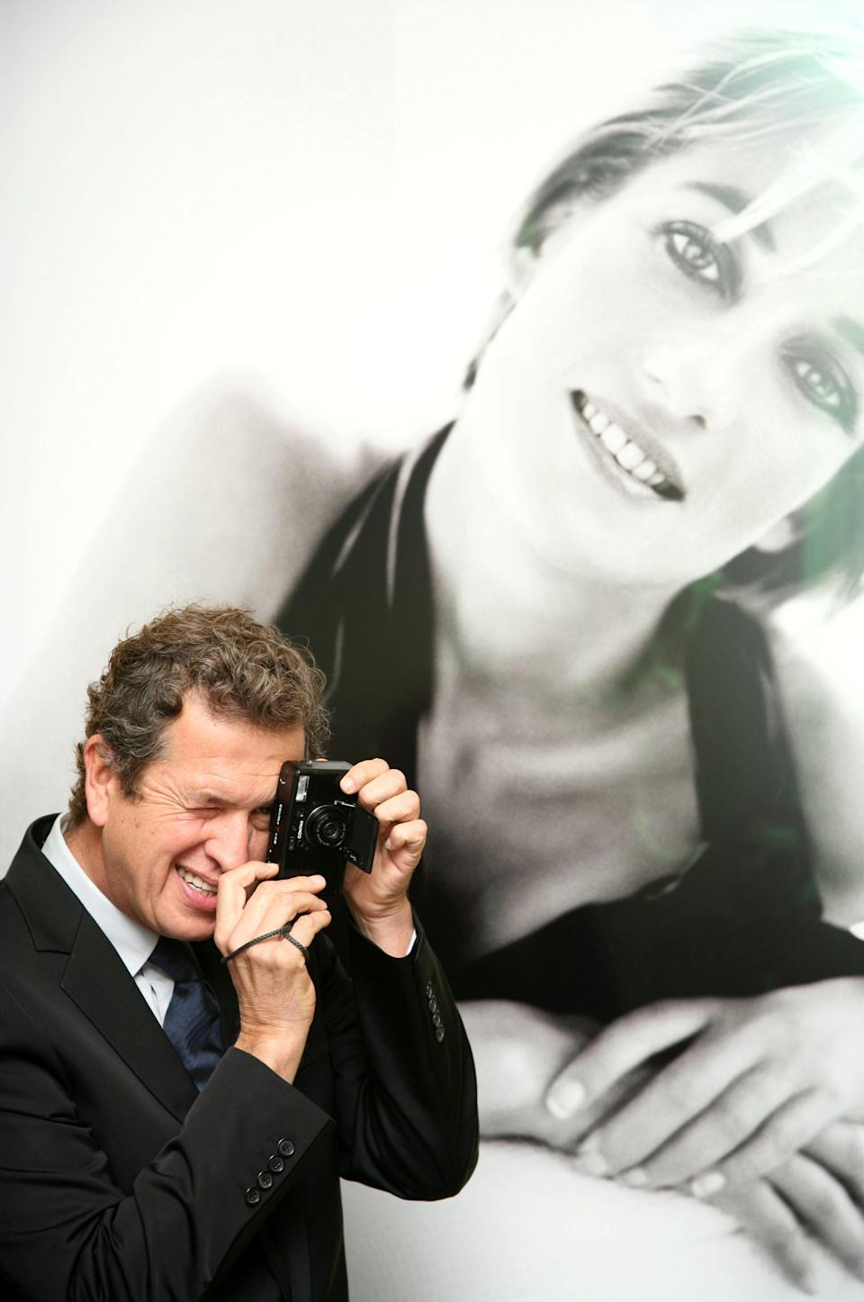 The 62-year-old photographer took the most famous photos of Princess Diana [Photo: Rex]