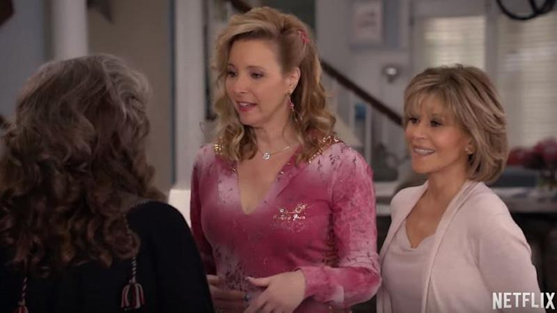"Vierte Staffel zu ""Grace and Frankie"": Lisa Kudrow als Phoebe 2.0"