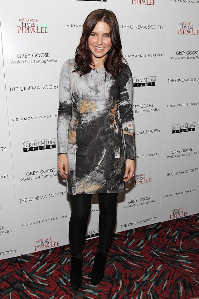 "<a href=""http://movies.yahoo.com/movie/contributor/1808410523"">Sophia Bush</a> at the New York City Cinema Society screening of <a href=""http://movies.yahoo.com/movie/1810025242/info"">The Private Lives of Pippa Lee</a> - 11/15/2009"