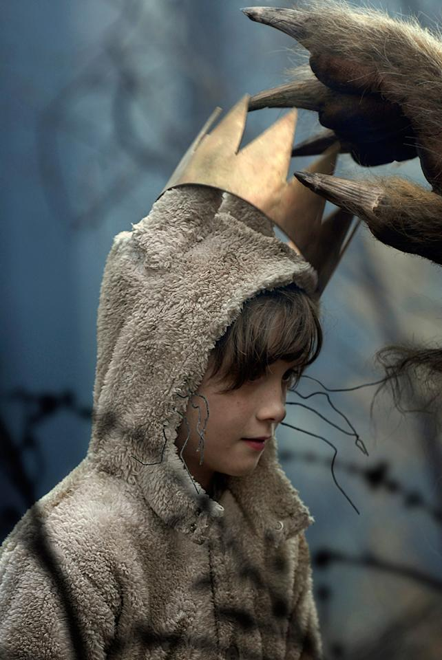 """10/16 - <a href=""""http://movies.yahoo.com/movie/1808412037/info"""">WHERE THE WILD THINGS ARE</a>   Director Spike Jones brings to life Maurice Sendak's classic children's book about a boy transported to a world of monsters."""