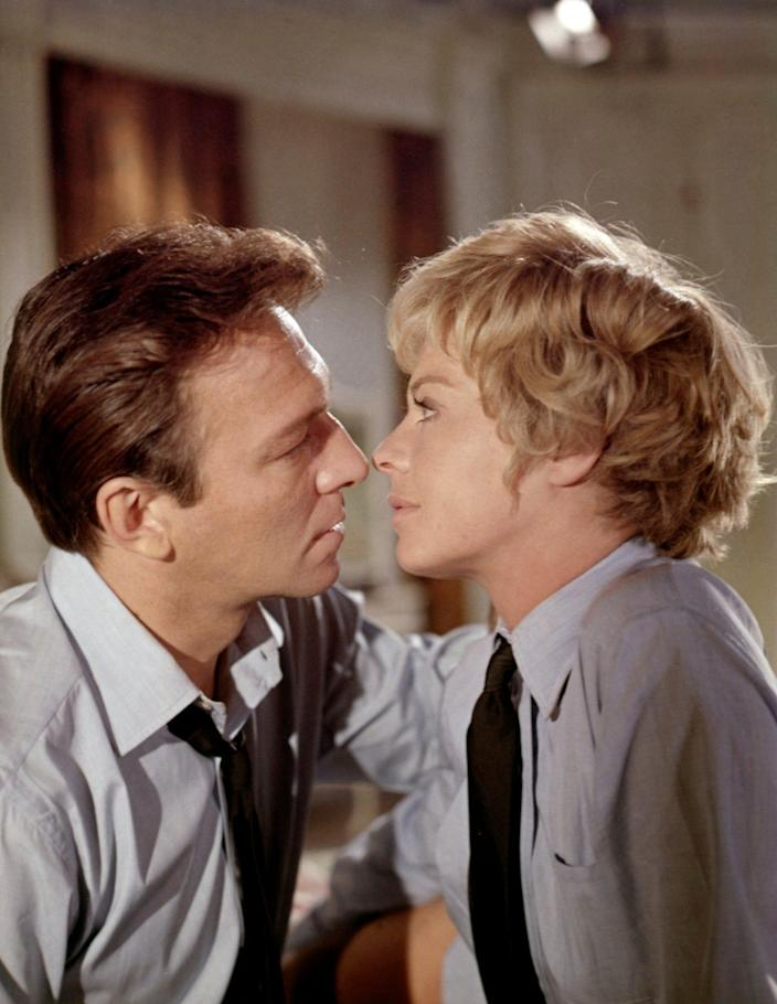 With Susannah York in The Battle of Britain (1969) - Sunset Boulevard
