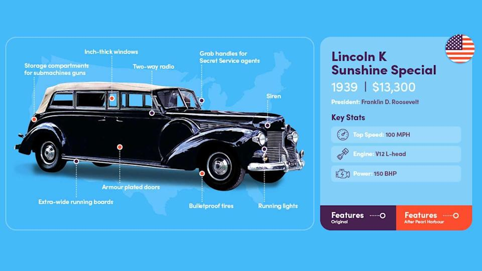 Presidential Limo 1939 Lincoln