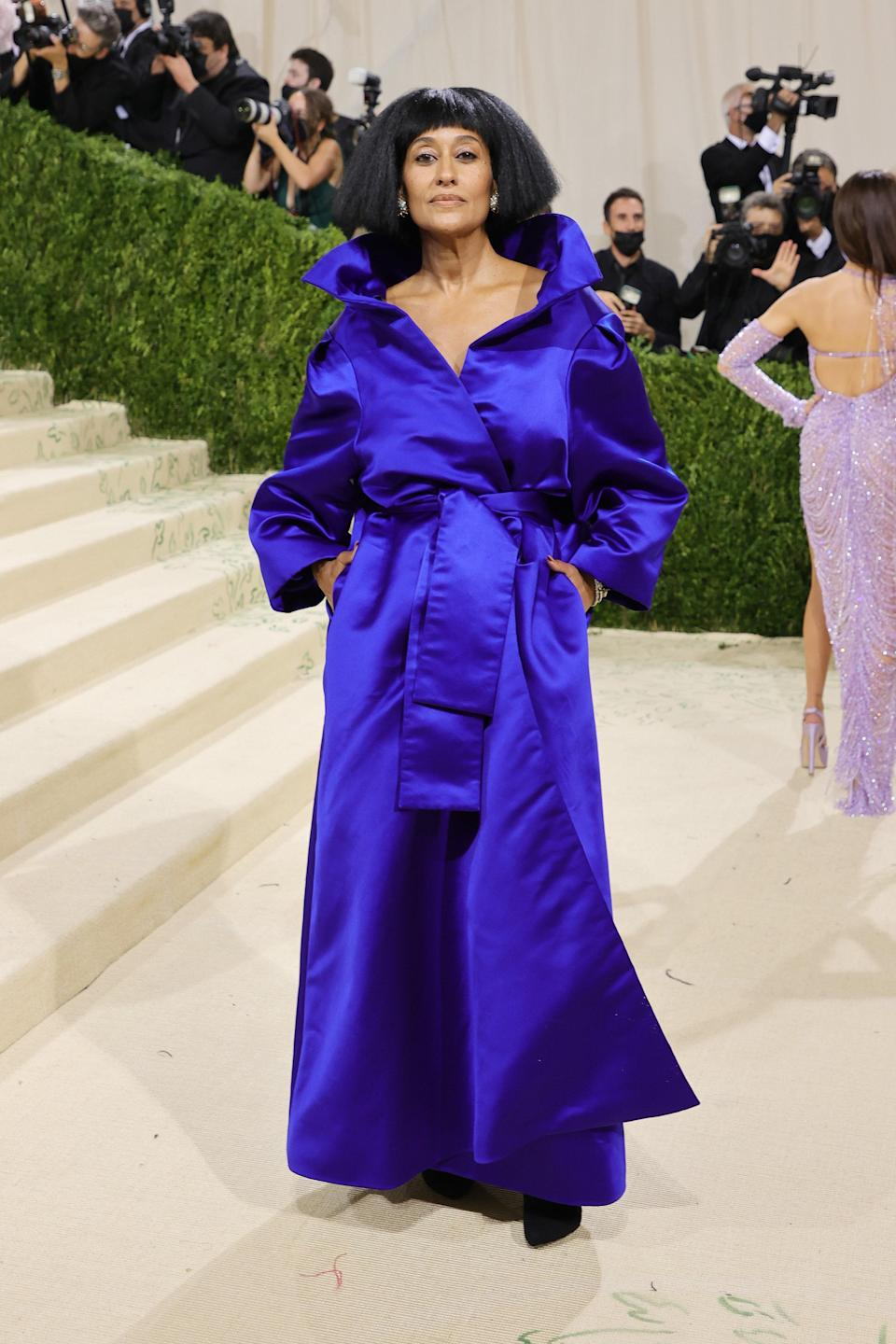 """<h1 class=""""title"""">Tracee Ellis Ross, The 2021 Met Gala Celebrating In America: A Lexicon Of Fashion - Arrivals</h1><cite class=""""credit"""">Getty</cite>"""