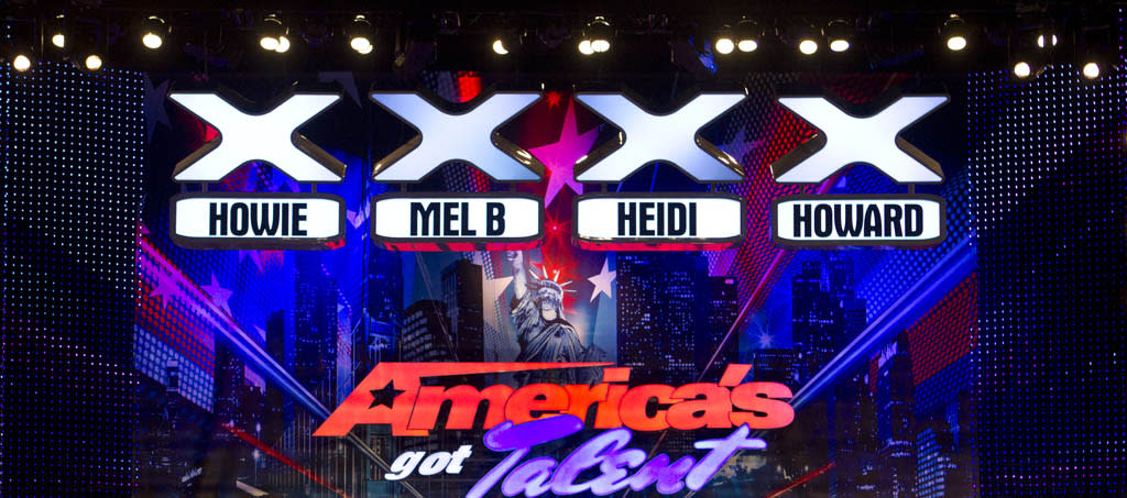 AMERICA'S GOT TALENT -- New Orleans Auditions -- Pictured: America's Got Talent stage