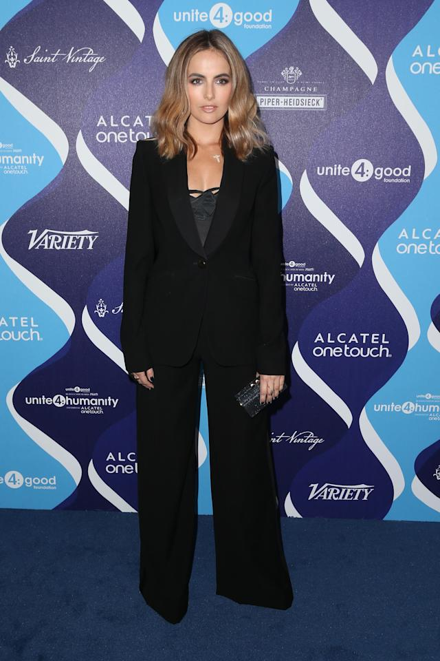 <p>Belle attends unite4:humanity at the Beverly Hilton Hotel in February 2015 in Los Angeles. (Photo: Getty Images) </p>