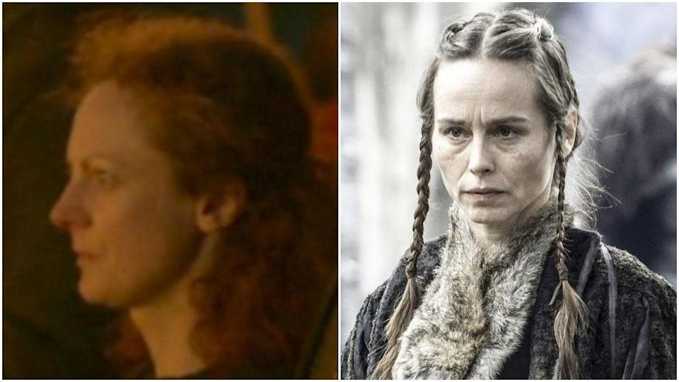 """<p>Hello, just casually here to annoy you with ANOTHER<em> GAME OF THRONES </em>RECASTING. This time, our victim is Sarah MacKeever, who was a """"stand-in"""" for the role of Selyse in season 2 before Tara Fitzgerald took over. Is anyone else deeply bothered by how little these women look alike? </p>"""