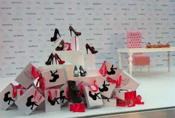 Paris Hilton Launches Her Shoe Line in Istanbul
