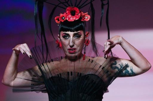 Spanish actress Rossy de Palma was among the collection of friends and stars who joined the show