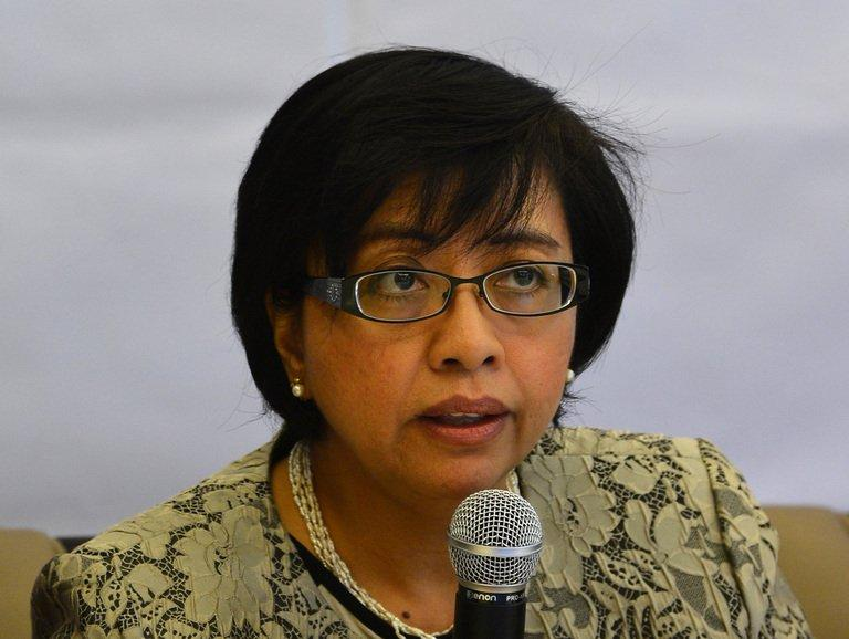The chief negotiator of the Phillipine government, Miriam Ferrer, on January 26, 2013