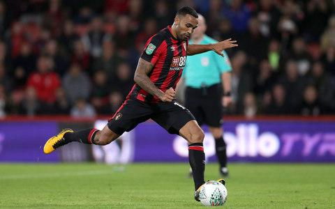 AFC Bournemouth's Callum Wilson scores his side's second goal of the game from the penalty spot during the Carabao Cup, Fourth Round match at the Vitality Stadium - Credit: PA