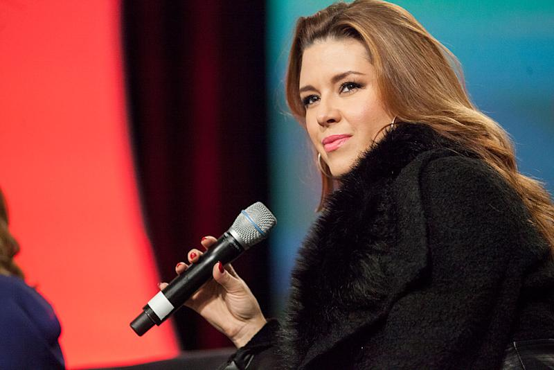 Twenty years later, a fierce and fabulous Alicia Machado — the first-ever Miss Universe — isn't intimidated by former pageant owner Donald Trump anymore. (Photo: Getty)