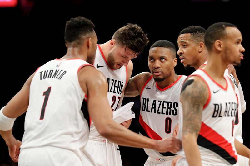 On form | Portland won 13 straight games before Tuesday's loss to Houston: Getty Images