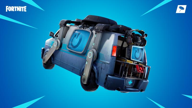Fortnite introduces 'Reboot Vans' so that you can revive your eliminated teammates