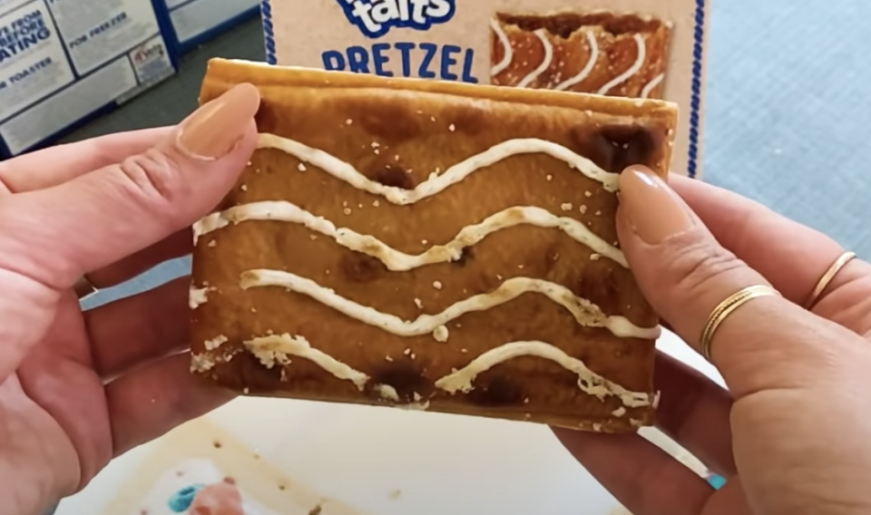 <p>Pop-Tarts finally came out with a salty and sweet combo of their top-selling brown sugar cinnamon flavor, however it's not <em>quite</em> salty enough to beat out the OG.</p>