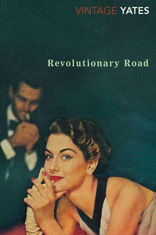 """<p><strong><em>Revolutionary Road</em> by Richard Yates</strong></p><p>$11.42 <a class=""""link rapid-noclick-resp"""" href=""""https://www.amazon.com/Revolutionary-Road-Richard-Yates/dp/0375708448/ref=tmm_pap_swatch_0?tag=syn-yahoo-20&ascsubtag=%5Bartid%7C10050.g.35990784%5Bsrc%7Cyahoo-us"""" rel=""""nofollow noopener"""" target=""""_blank"""" data-ylk=""""slk:BUY NOW"""">BUY NOW</a></p><p>Published in 1961, <em>Revolutionary Road</em> explores American life in the '50s and the desire for normality. Frank and April Wheeler seem as though their lives are the ultimate suburban dream in Connecticut. They're good-looking homeowners with two young children; it all looks perfect from afar. Thinking that greatness is right around the corner, they find themselves spinning out of control. The 2008 film adaptation, starring Leonardo DiCaprio and Kate Winslet, was nominated for many awards, including three Oscars. </p>"""