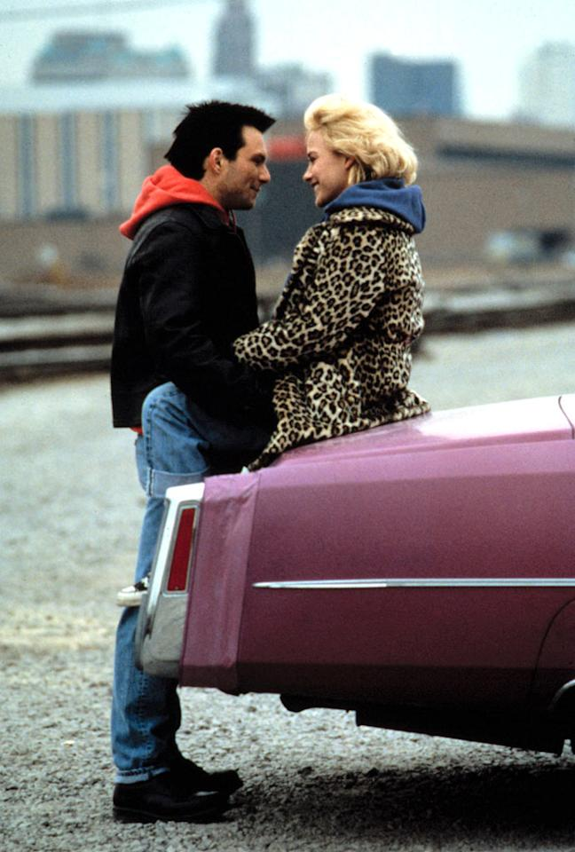 """<a href=""""http://movies.yahoo.com/movie/1800192965/info"""">TRUE ROMANCE</a>   Starting Point: Detroit, MI   Ending Point: Los Angeles   Goal: Flee gangsters with a suitcase full of stolen drugs. The usual reason.   Snags: The aforementioned gangsters."""