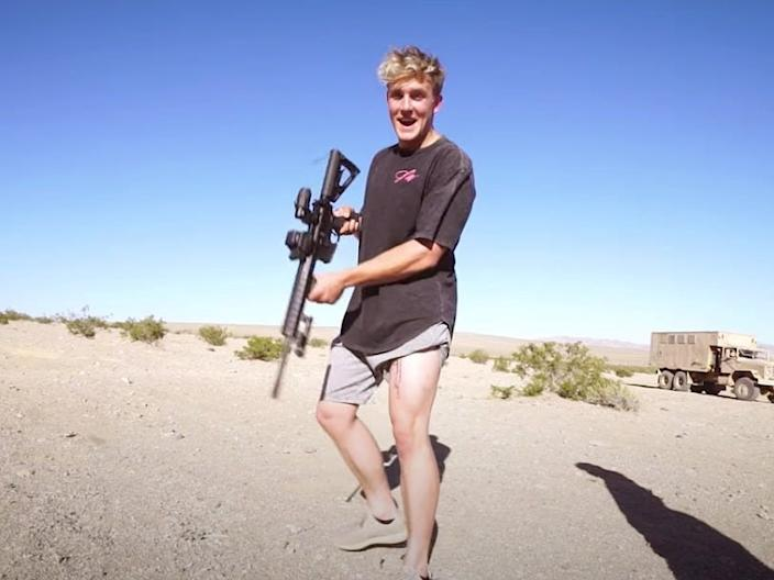jake paul guns fbi