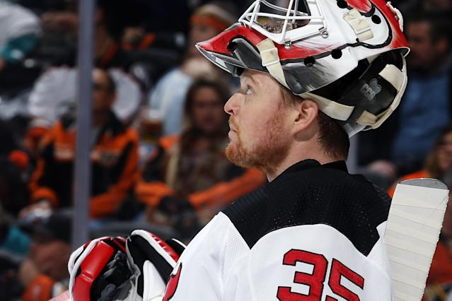 The New Jersey netminder is mired in by far the worst slump of his career in between the pipes.