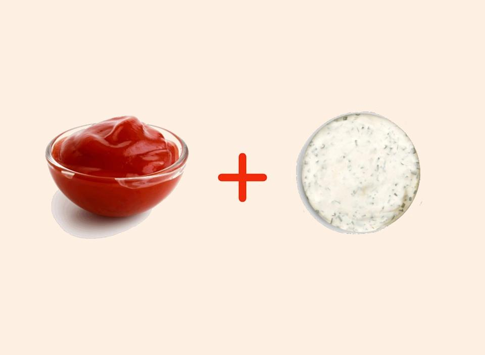 ranch with ketchup amazing food pairings