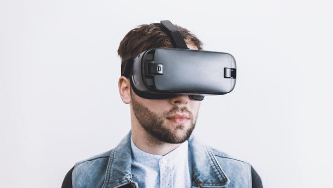 Ilustrasi VR, Virtual Reality, VR Headset, Virtual Reality Headset. Kredit: Jan Vašek (JESHOOTS-com) via Pixabay