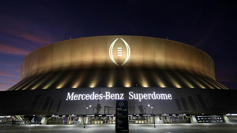 Superdome honors Edward Aschoff, Carley McCord with reserved seats for CFP championship game
