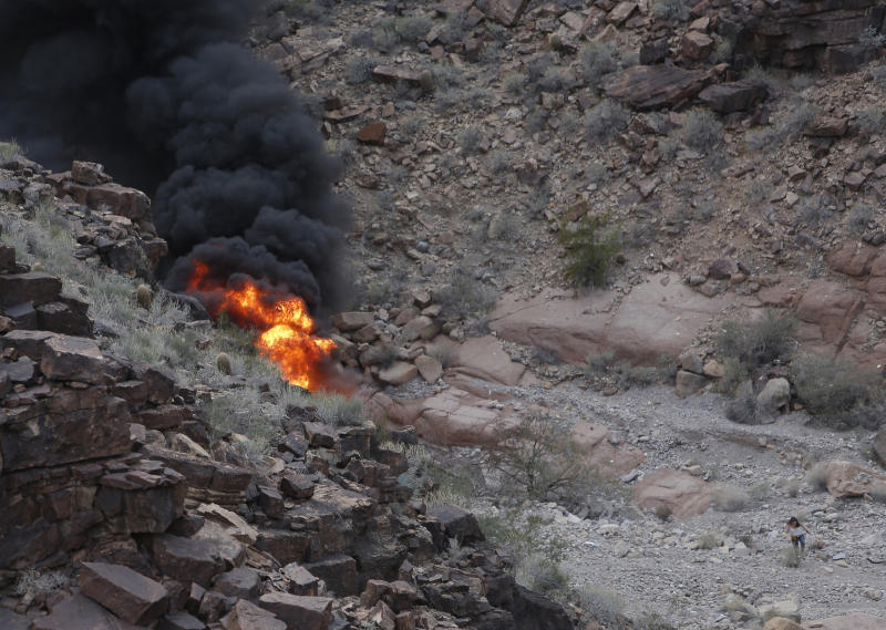 Fourth Grand Canyon Helicopter Crash Victim Dies